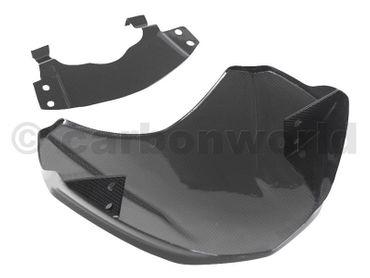 Cupolino parabrezza carbonio opaco per Ducati Scrambler – Image 10