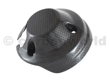 Cornice copri strumenti carbonio opaco per Ducati Scrambler – Image 4
