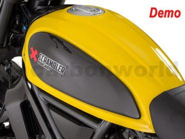 Protection de réservoir carbone mate pour Ducati Scrambler – Image 5