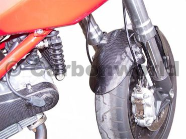 front fender carbon for Ducati Hypermotard – Image 3