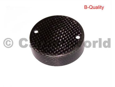 brake fluid container cover for carbon Ducati – Image 1