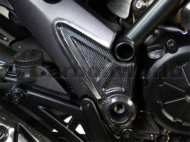 carbon frame cover for Ducati Diavel – Image 3