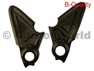 carbon frame cover for Ducati Diavel – Image 1