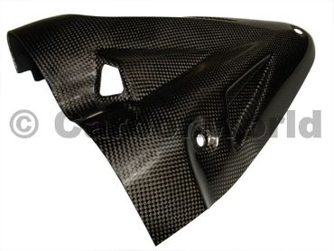 lower heat guard carbon Ducati Diavel – Image 3