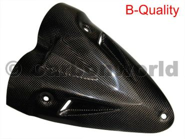 lower heat guard carbon Ducati Diavel – Image 1
