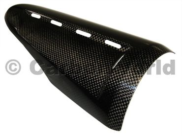 upper heat guard carbon Ducati Diavel – Image 3