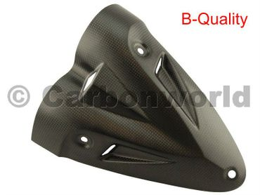 lower heat guard carbon mat Ducati Diavel – Image 1