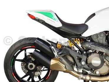 bracket cover carbon mat for Ducati Monster 821 1200 – Image 6