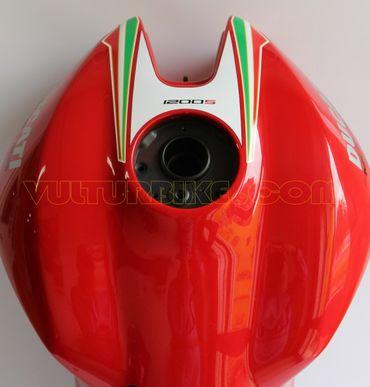 decal sticker tank tricolore for Ducati Monster 821 1200