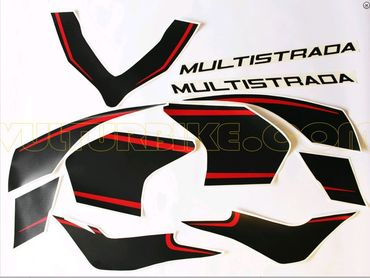 "decal sticker kit ""custom design"" for Ducati Multistrada 1200 (2015/2016)  – Image 2"