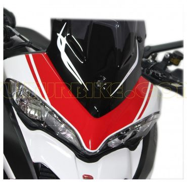 decal sticker kit front fairing red for Ducati Multistrada 1200 (2015/2016)