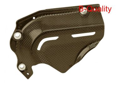 sprocket cover carbon glossy for Hypermotard 821/939 – Image 1