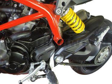 Copripignone in carbonio lucide per Ducati Hypermotard 821/939 – Image 3