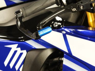 brake lever protection blue Bonamici Racing  – Image 3