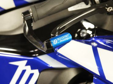 brake lever protection blue Bonamici Racing  – Image 5
