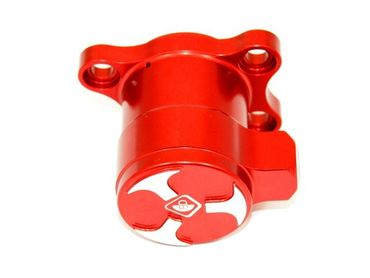 Clutch slave cylinder red Ducabike for Ducati engine – Image 2