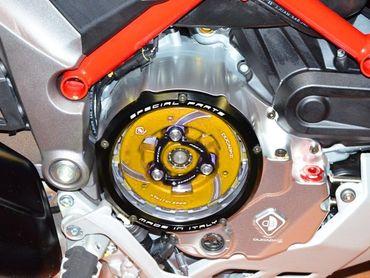Druckplatte gold Ducabike für Ducati Panigale, Monster, Diavel, Multistrada 950 / 1200, Hypermotard, Scrambler – Bild 2