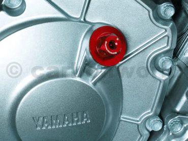 Öleinfüllschraube rot Bonamici Racing für Yamaha R1 – Bild 3