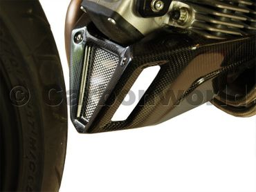 belly pan carbon for Ducati Hypermotard and Monster – Image 3