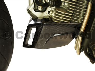 belly pan carbon for Ducati Hypermotard and Monster – Image 4