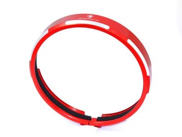 headlight trim red Ducabike for Ducati Scrambler – Image 1