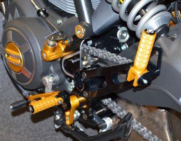 Biposto-Kit für Fußrastenanlage Ducabike für Ducati Scrambler – Bild 4