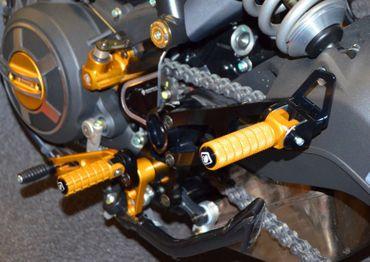 Biposto-Kit für Fußrastenanlage Ducabike für Ducati Scrambler – Bild 3
