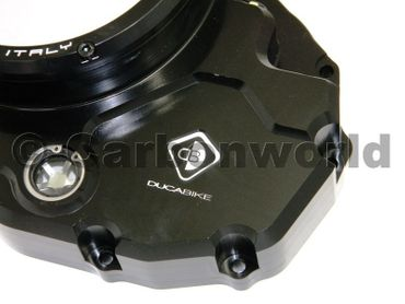 Clutch cover for oil bath clutch black Ducabike for Ducati Diavel (2016-17) – Image 2