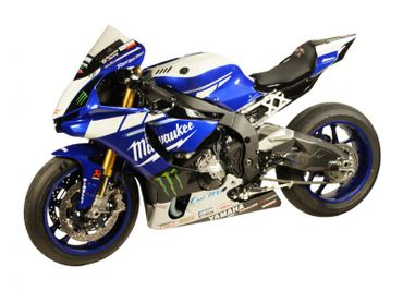 Rearset blue carbon Bonamici Racing for Yamaha YZF R1/R1M – Image 7