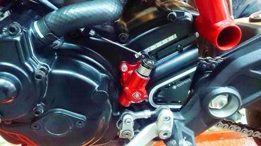 Kupplungsnehmerzylinder Mechanisch rot Ducabike für Ducati Hypermotard, Hyperstrada, Multistrada – Bild 5
