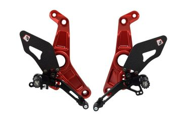 rearset red/black Ducabike for Ducati Monster 1200 R – Image 1