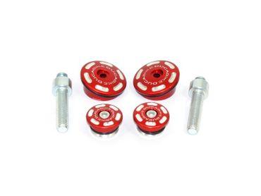tappi telaio kit rosso Ducabike per Ducati Multistrada 1200 Enduro