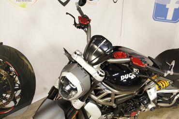 Windschutz schwarz CNC Racing für Ducati XDiavel – Bild 5