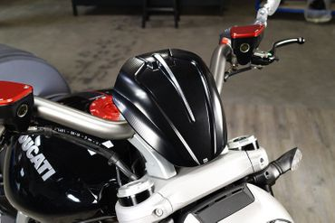 Cupolino argento CNC Racing per Ducati XDiavel – Image 4