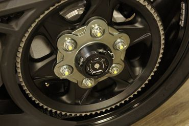 shaft guard rearwheel black CNC Racing for Ducati XDiavel  – Image 3