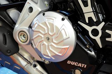 cache d embrayage argent Ducabike per Ducati XDiavel – Image 2
