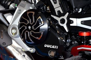 clutch cover black Ducabike for Ducati XDiavel – Image 2