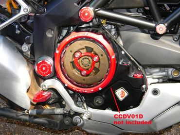 Druckfeder rot Ducabike für Ölbadkupplung für Ducati Monster 821 1200 – Bild 2