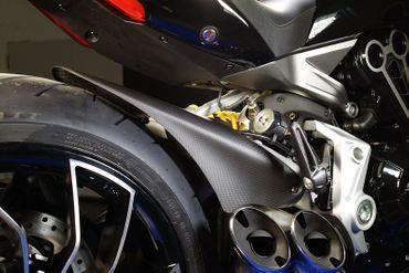 garde-boue arrière en carbone mate pour Ducati XDiavel – Image 9