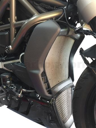 cooler cover carbon mat for Ducati XDiavel – Image 2