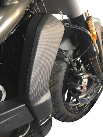 Protège radiateur en carbone mate pour Ducati XDiavel – Image 4