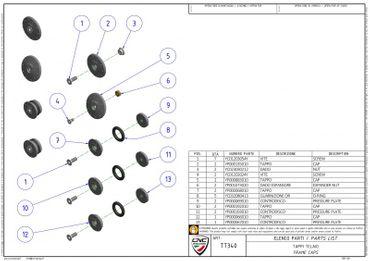 Kit de capuches de cadre noir CNC Racing pour Ducati Multistrada 950 – Image 4