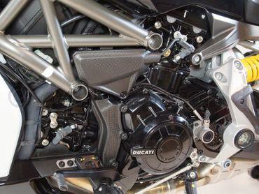 capot de câble carbone mate pour Ducati XDiavel – Image 3