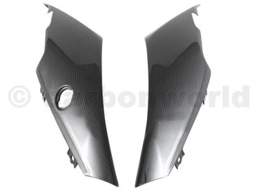 seat panels carbon mat for Ducati XDiavel – Image 1