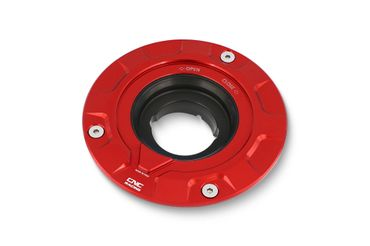 Fuel Tank Cap Flange red CNC-Racing for Ducati Scrambler – Image 1