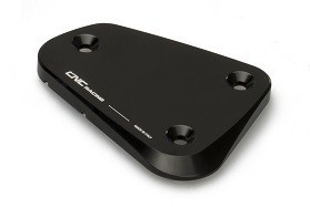 "fluid container cover ""Touch"" black CNC Racing for Ducati Multistrada, Streetfighter  – Image 2"