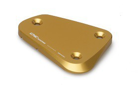 "fluid container cover ""Touch"" gold CNC Racing for Ducati Multistrada, Streetfighter  – Image 2"