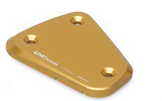 "fluid container cover ""Touch"" gold CNC Racing for Ducati Multistrada, Streetfighter  – Image 3"