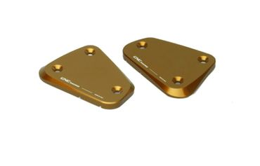 """fluid container cover """"Touch"""" gold CNC Racing for Ducati Multistrada, Streetfighter  – Image 1"""
