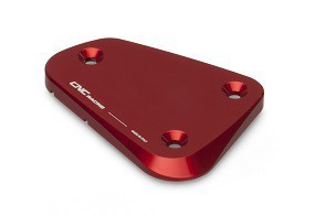 "fluid container cover ""Touch"" red CNC Racing for Ducati Multistrada, Streetfighter  – Image 2"